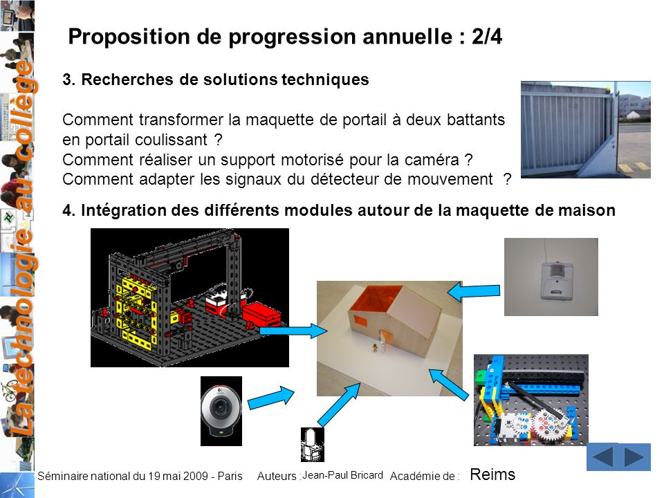 Proposition de progression annuelle : 2/4