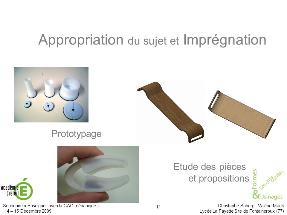 Appropriation du sujet et Imprégnation