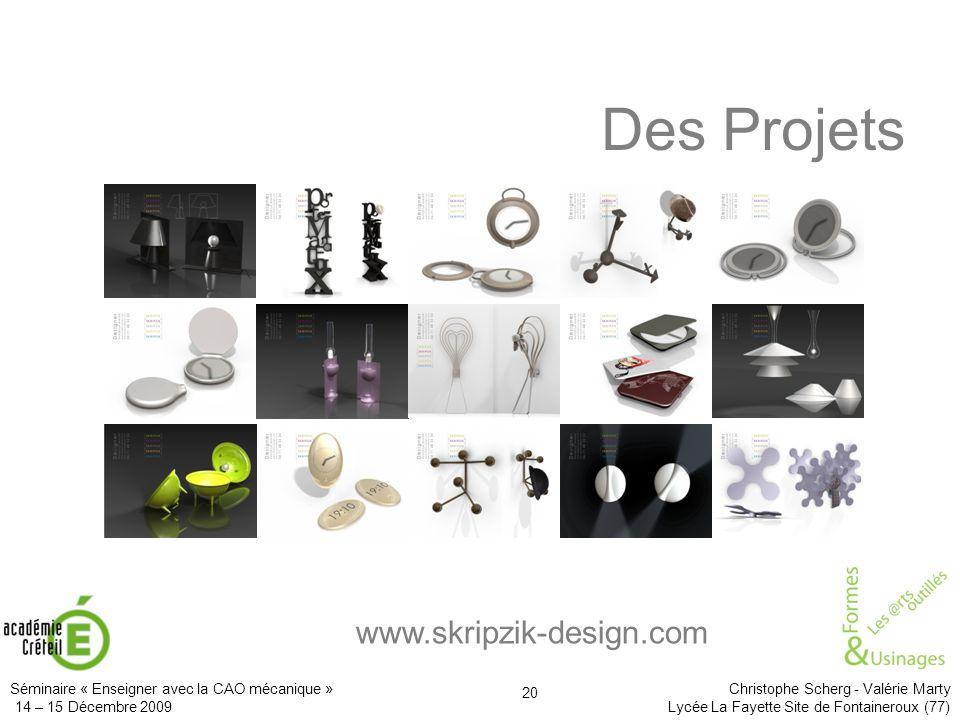 Des Projets www.skripzik-design.com