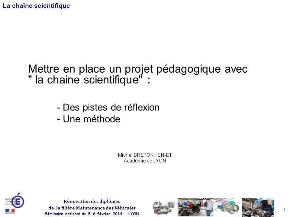 Michel BRETON IEN-ET Académie de LYON