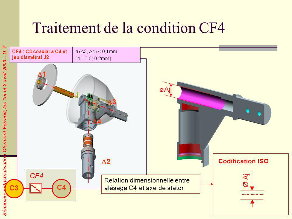 Traitement de la condition CF4