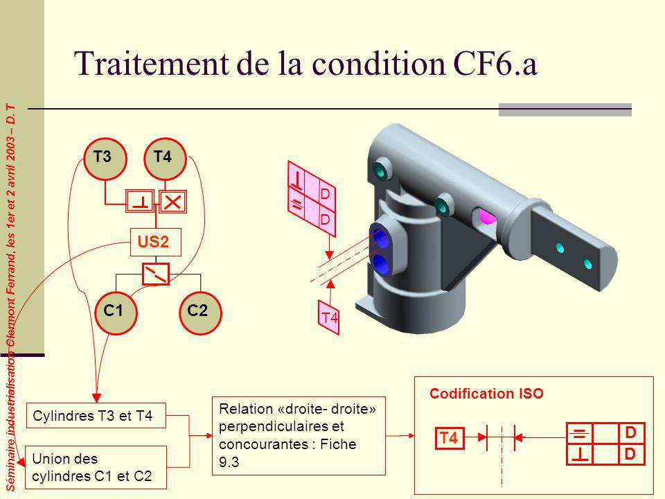 Traitement de la condition CF6.a