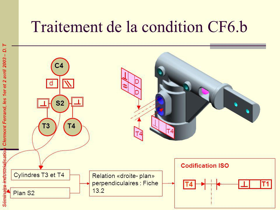 Traitement de la condition CF6.b