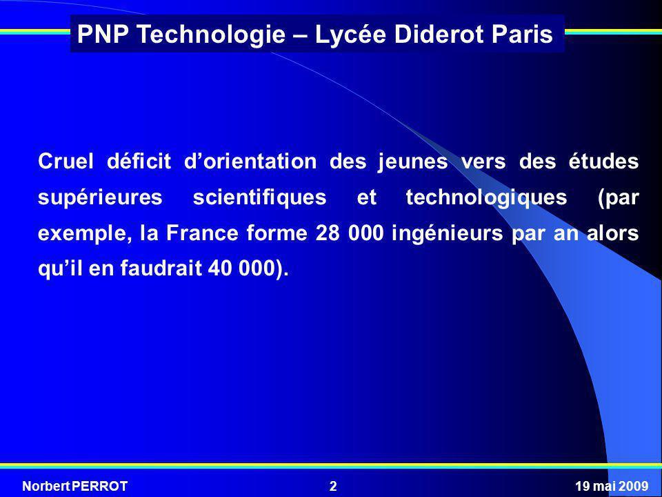 Cruel déficit d'orientation des jeunes vers des études supérieures scientifiques et technologiques (par exemple, la France forme 28 000 ingénieurs par an alors qu'il en faudrait 40 000).