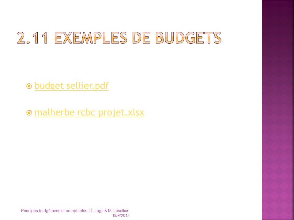 2.11 EXEMPLES DE BUDGETS budget sellier.pdf malherbe rcbc projet.xlsx