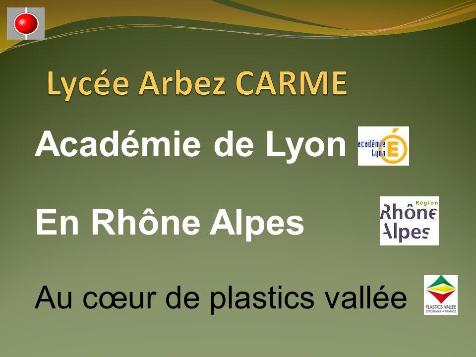 Lycée Arbez CARME Académie de Lyon En Rhône Alpes