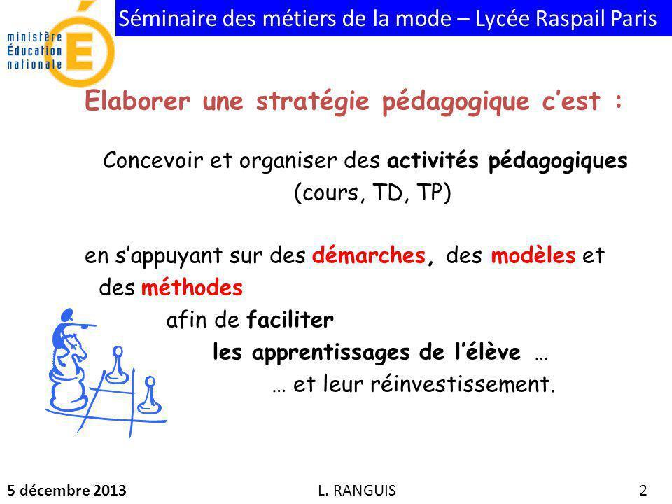 Concevoir et organiser des activités pédagogiques (cours, TD, TP)