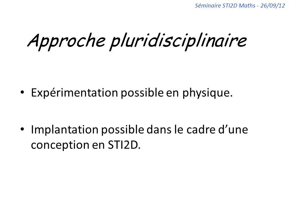 Approche pluridisciplinaire