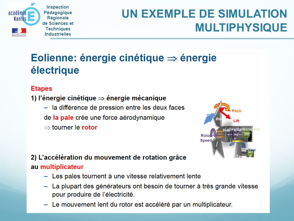 UN EXEMPLE DE SIMULATION MULTIPHYSIQUE