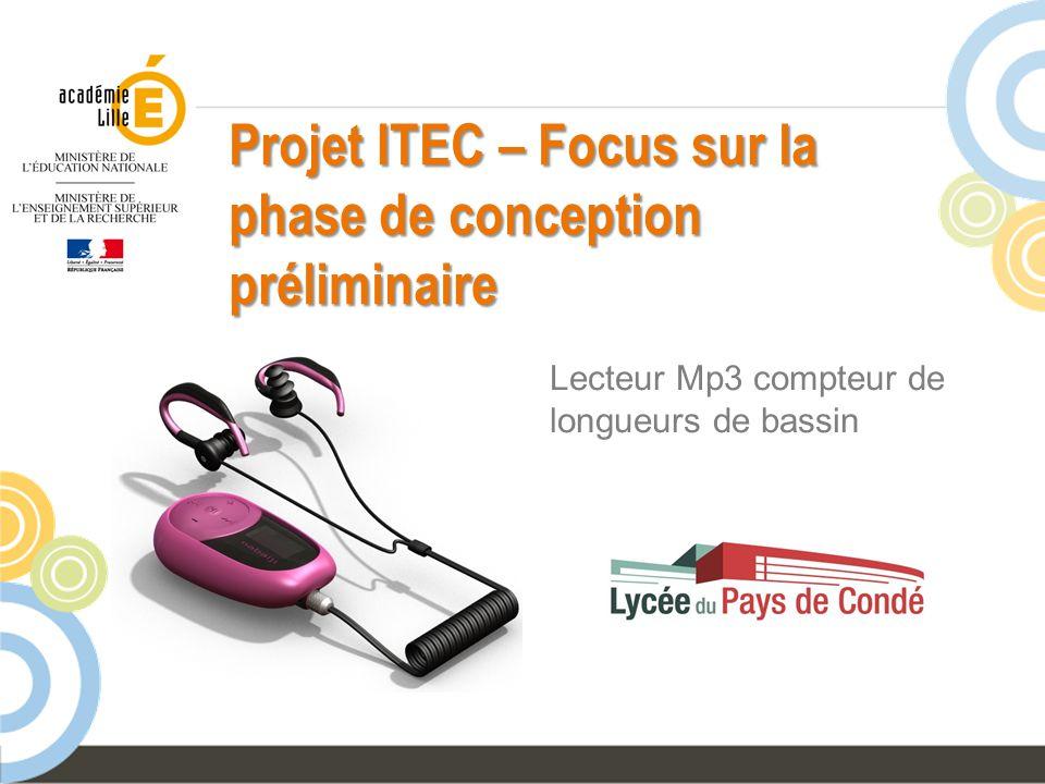 Projet ITEC – Focus sur la phase de conception préliminaire