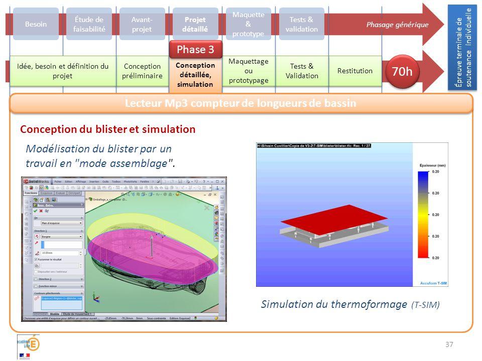 Conception détaillée, simulation
