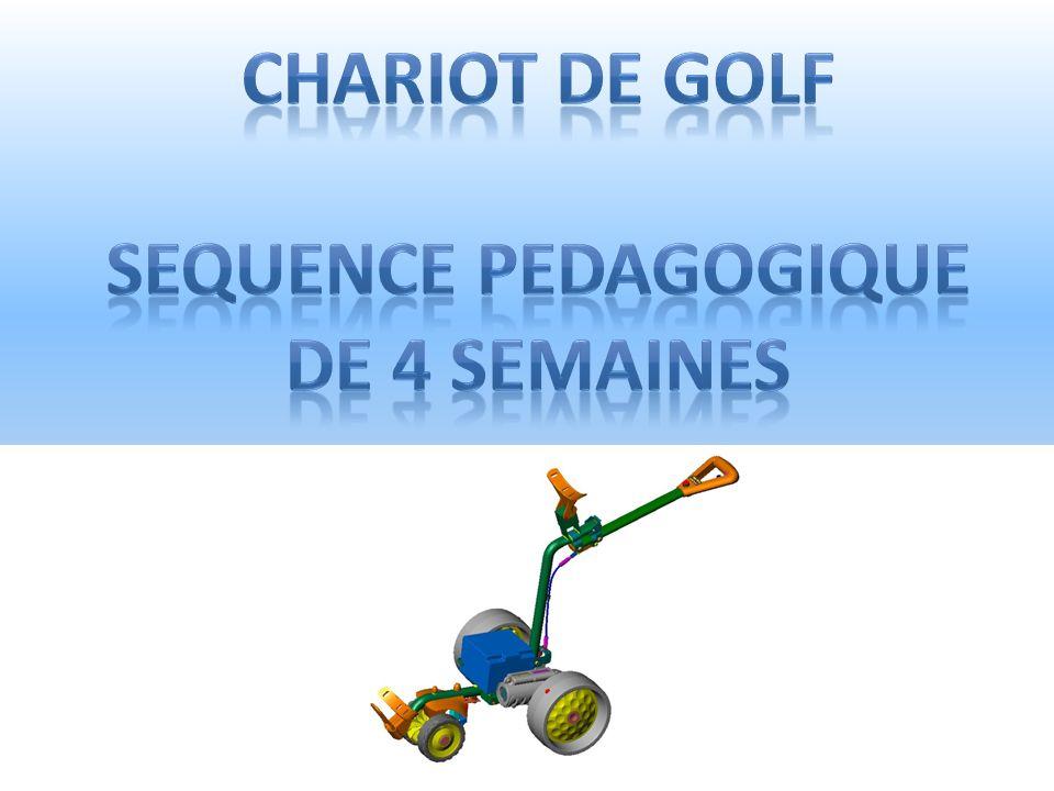 Chariot de Golf Sequence pedagogique De 4 semaines