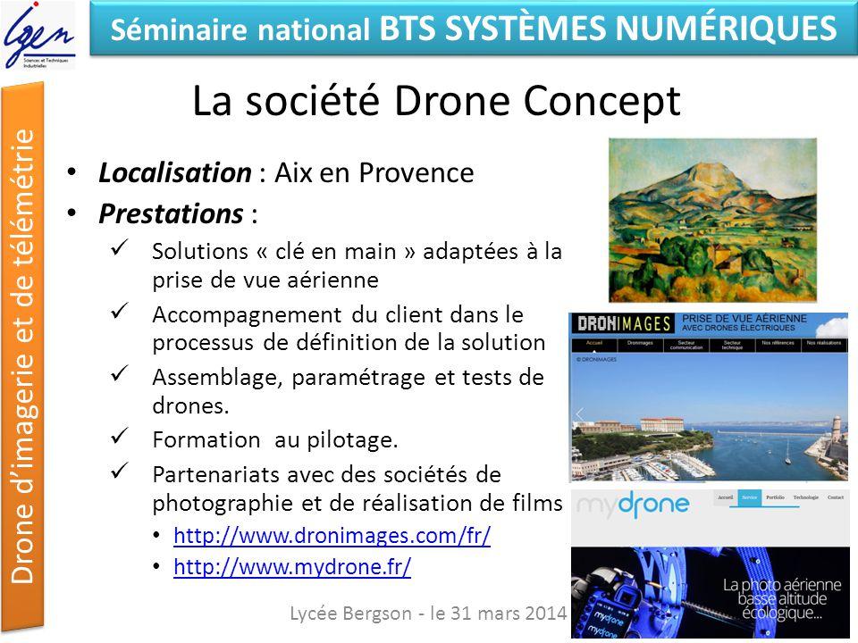 La société Drone Concept