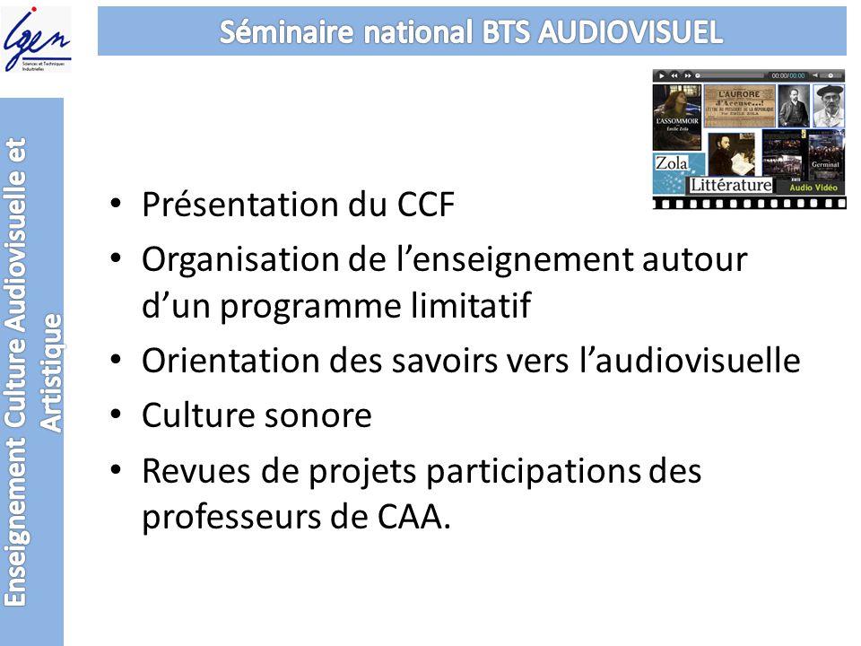 Enseignement Culture Audiovisuelle et Artistique