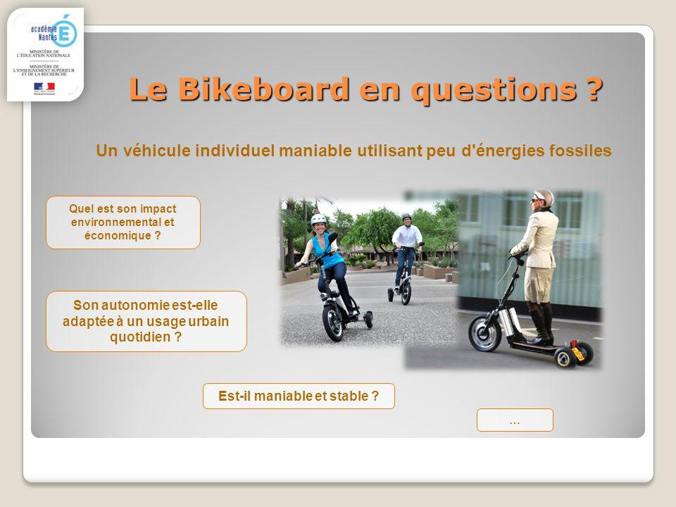 Le Bikeboard en questions