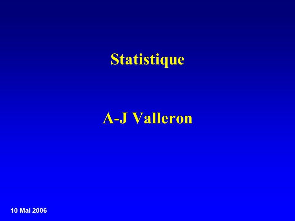 Statistique A-J Valleron