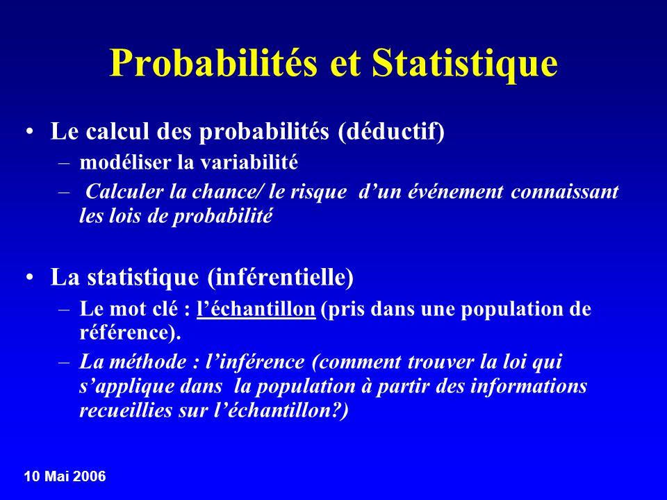 Probabilités et Statistique