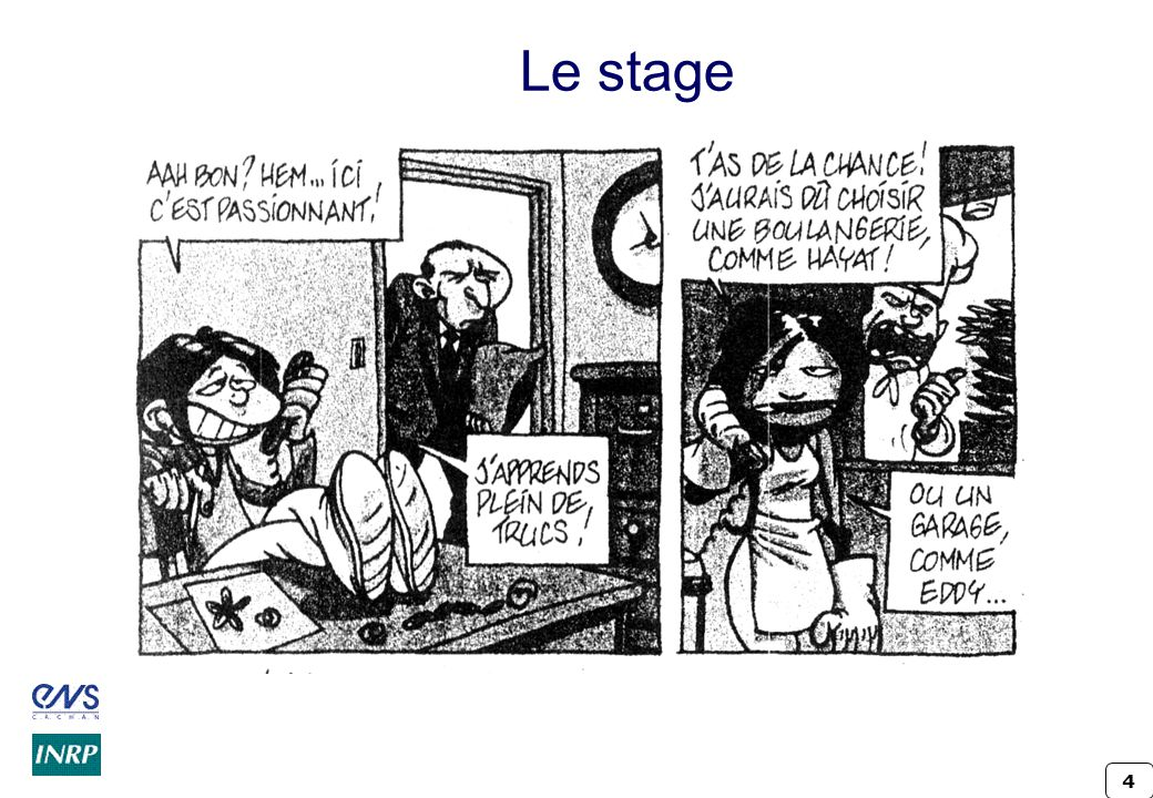 Le stage Crindal - INRP ENS Cachan