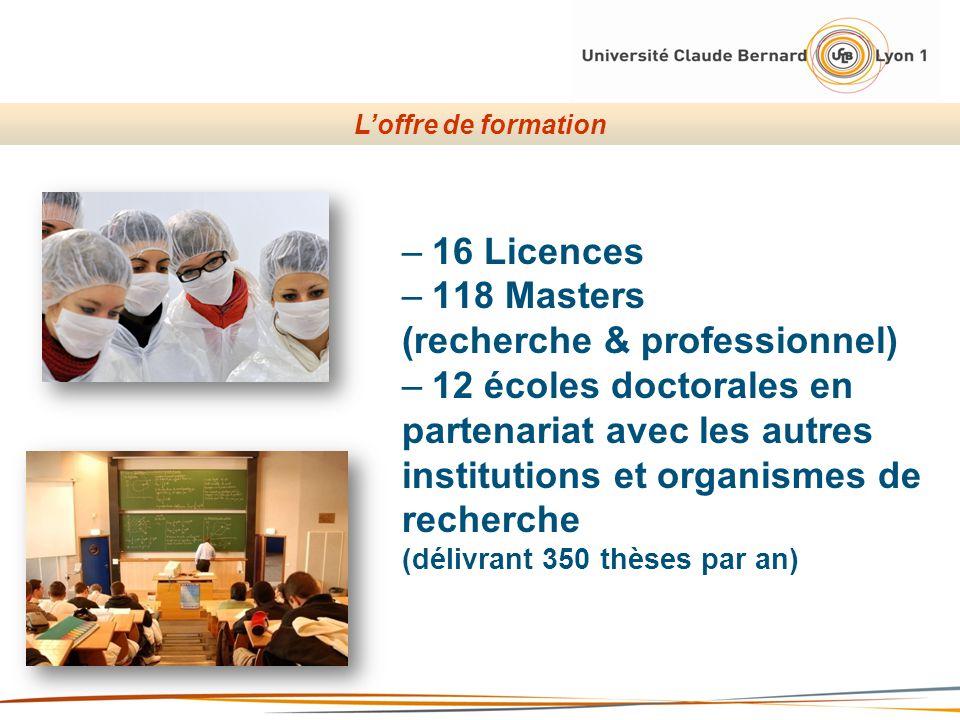 (recherche & professionnel) 12 écoles doctorales en