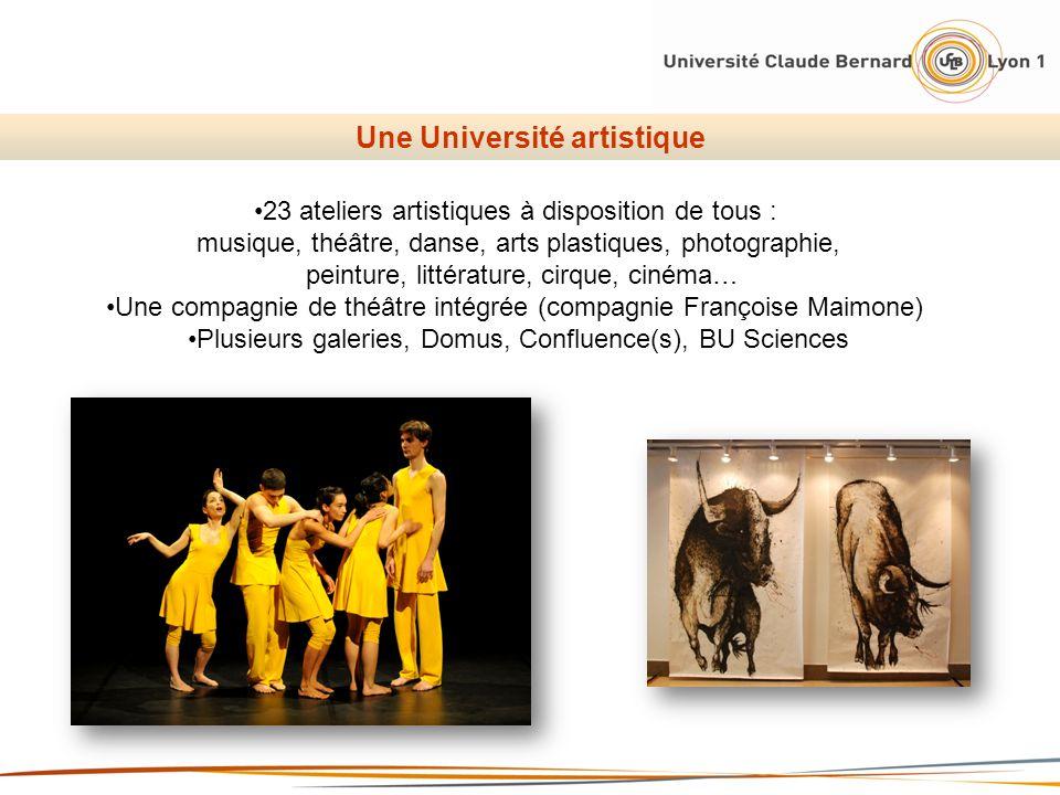 Une Université artistique