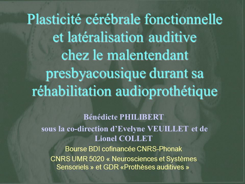sous la co-direction d'Evelyne VEUILLET et de Lionel COLLET