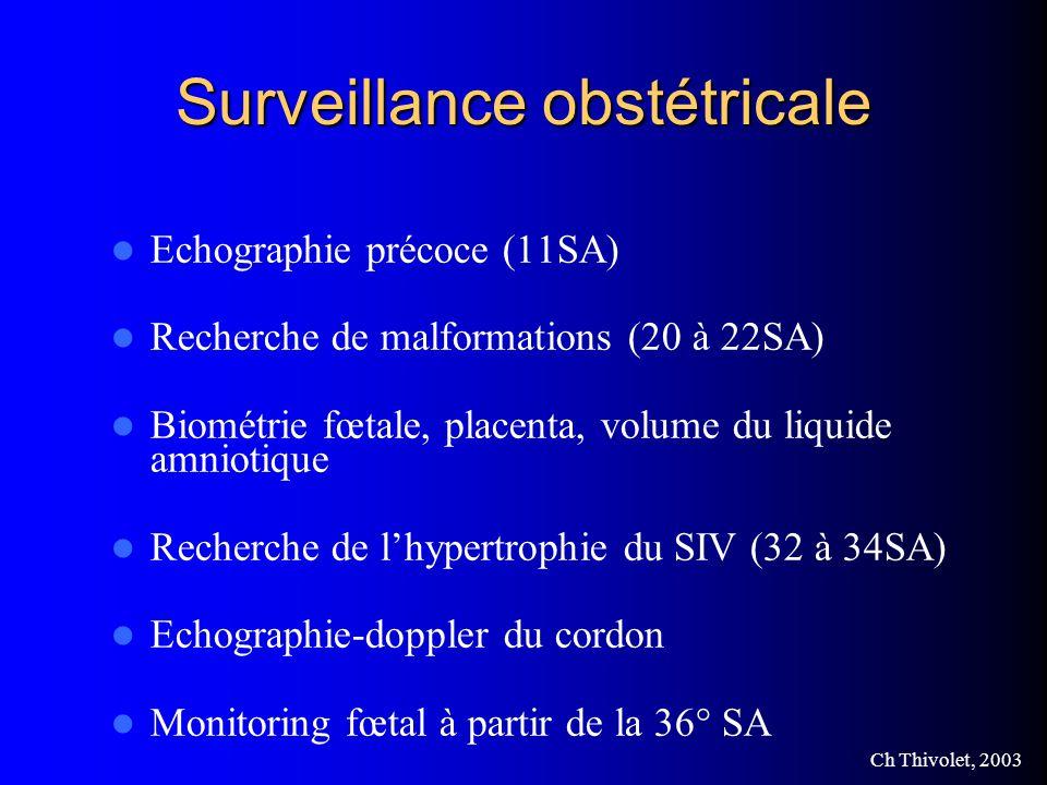 Surveillance obstétricale