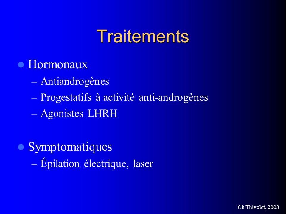 Traitements Hormonaux Symptomatiques Antiandrogènes