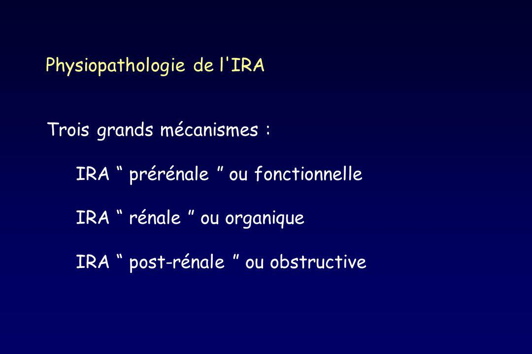 Physiopathologie de l IRA