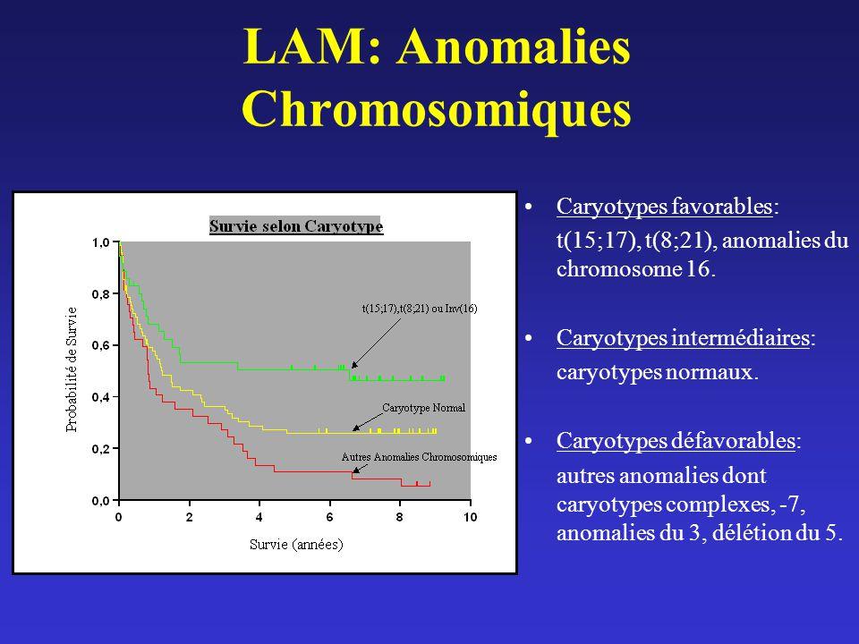 LAM: Anomalies Chromosomiques