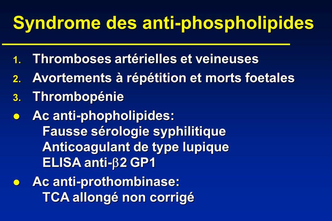 Syndrome des anti-phospholipides