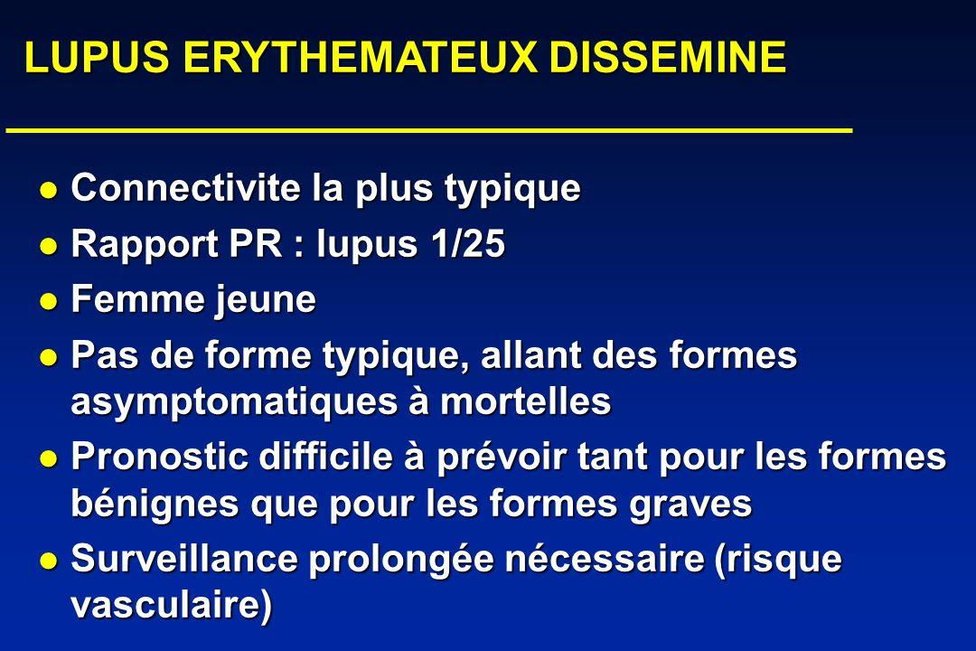 LUPUS ERYTHEMATEUX DISSEMINE