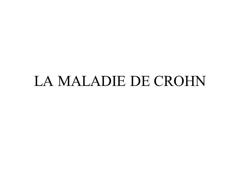 LA MALADIE DE CROHN