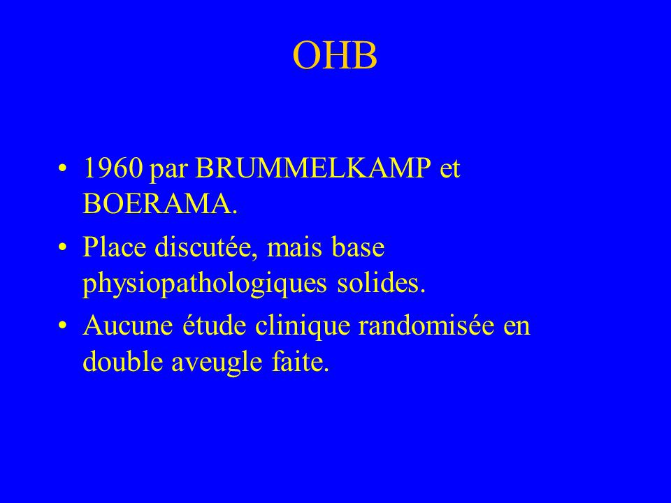 OHB 1960 par BRUMMELKAMP et BOERAMA.
