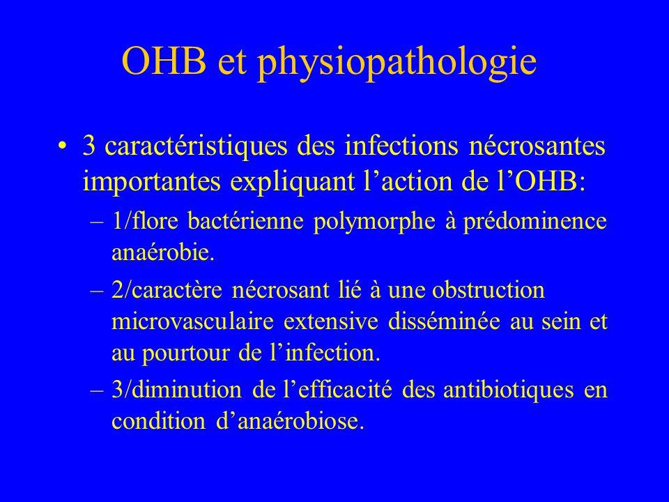 OHB et physiopathologie