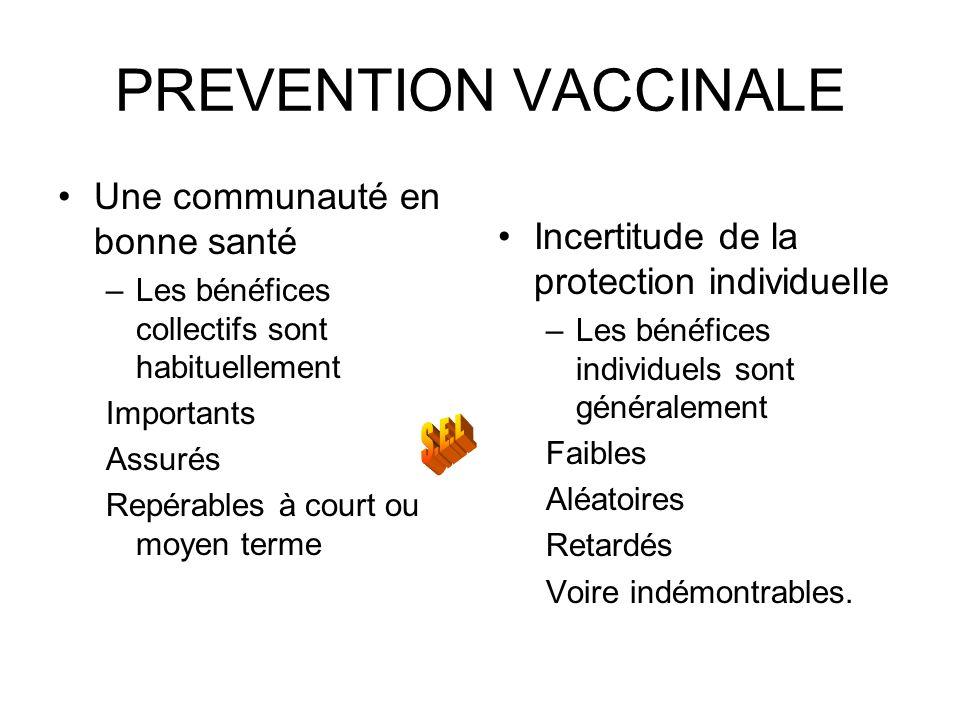 PREVENTION VACCINALE Une communauté en bonne santé
