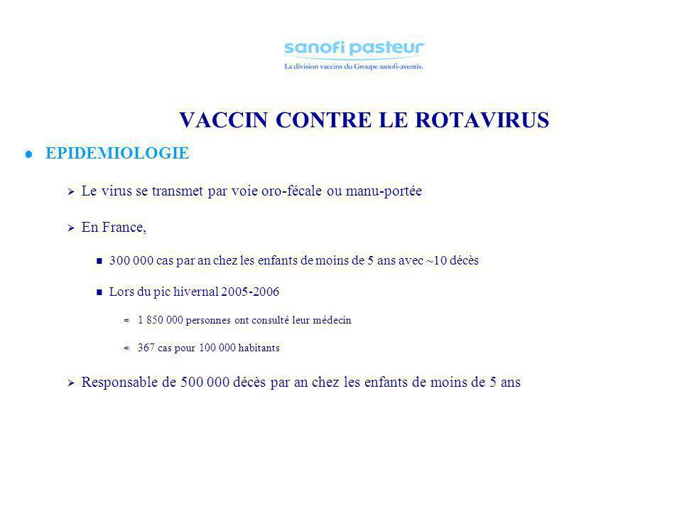 VACCIN CONTRE LE ROTAVIRUS