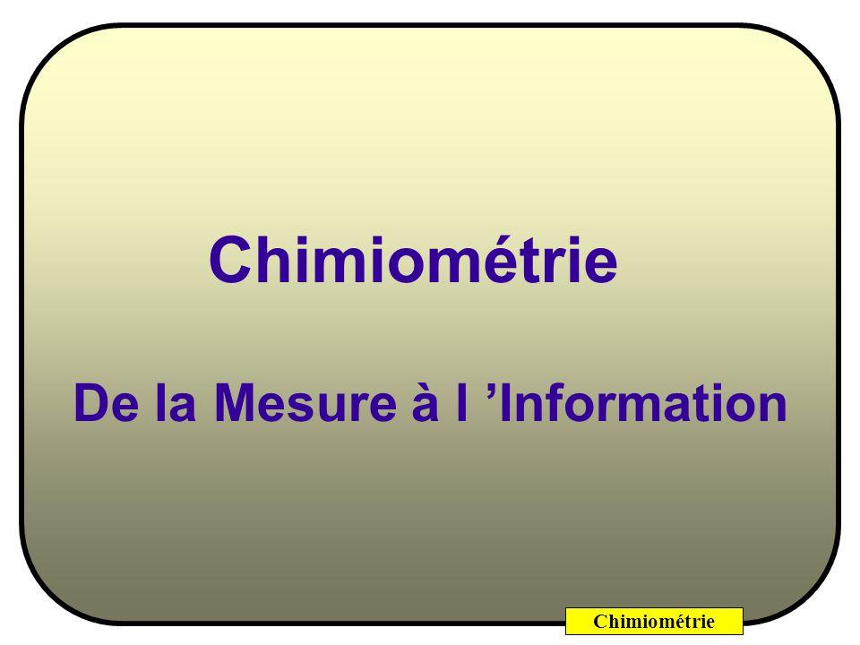 De la Mesure à l 'Information