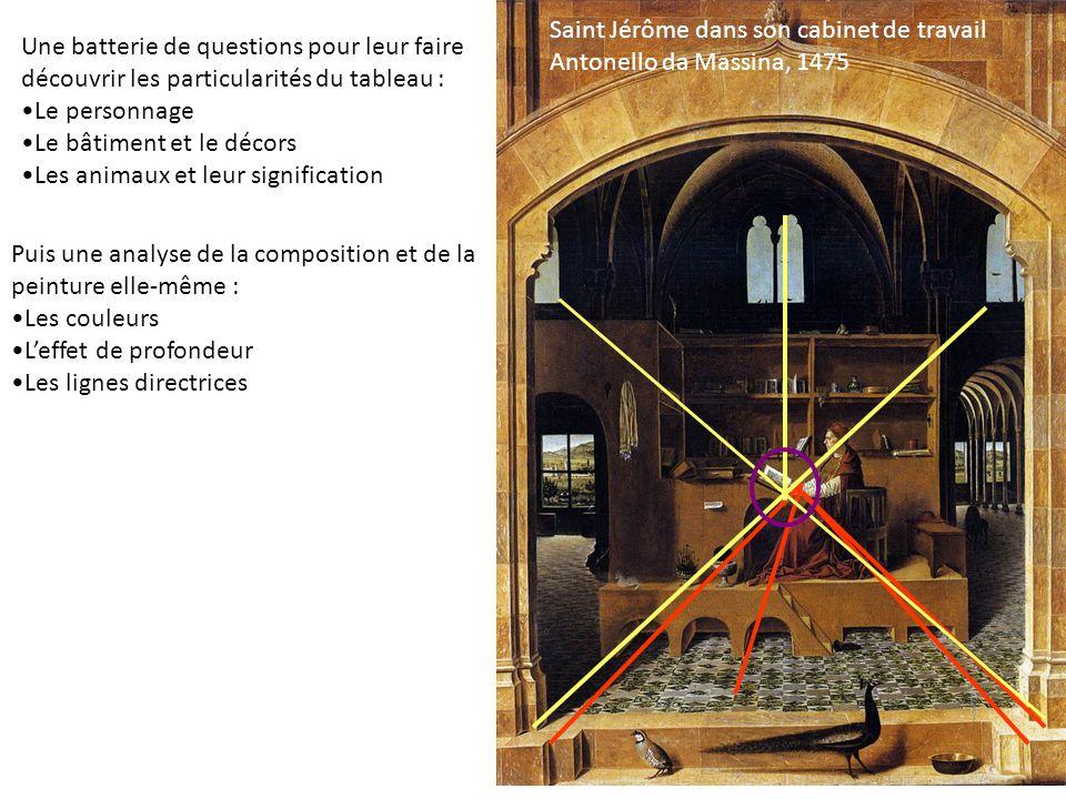 Saint Jérôme dans son cabinet de travail