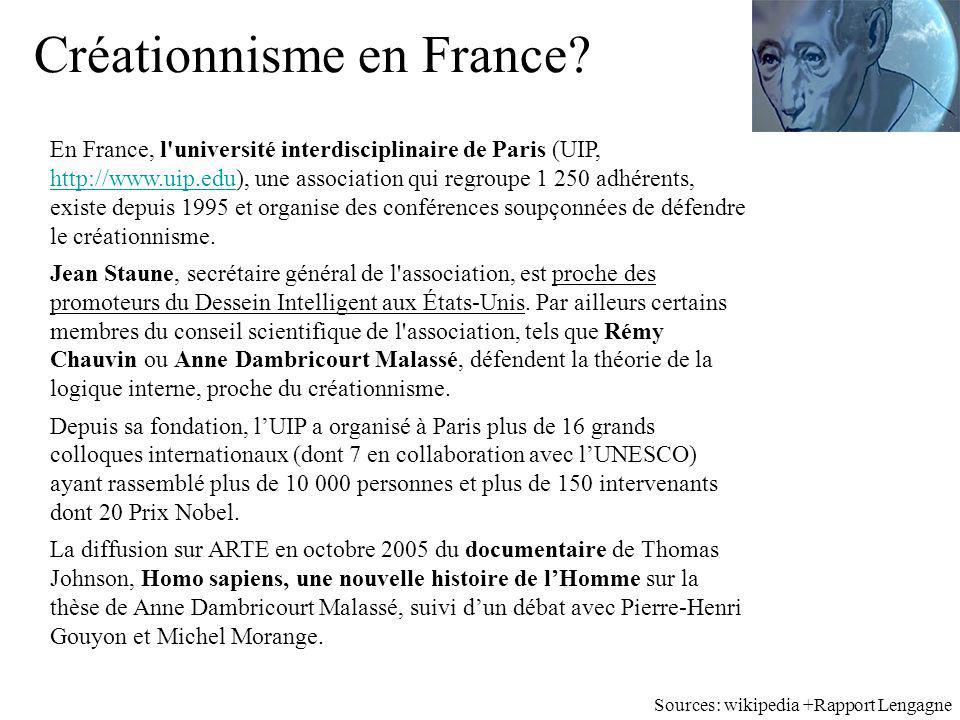Créationnisme en France