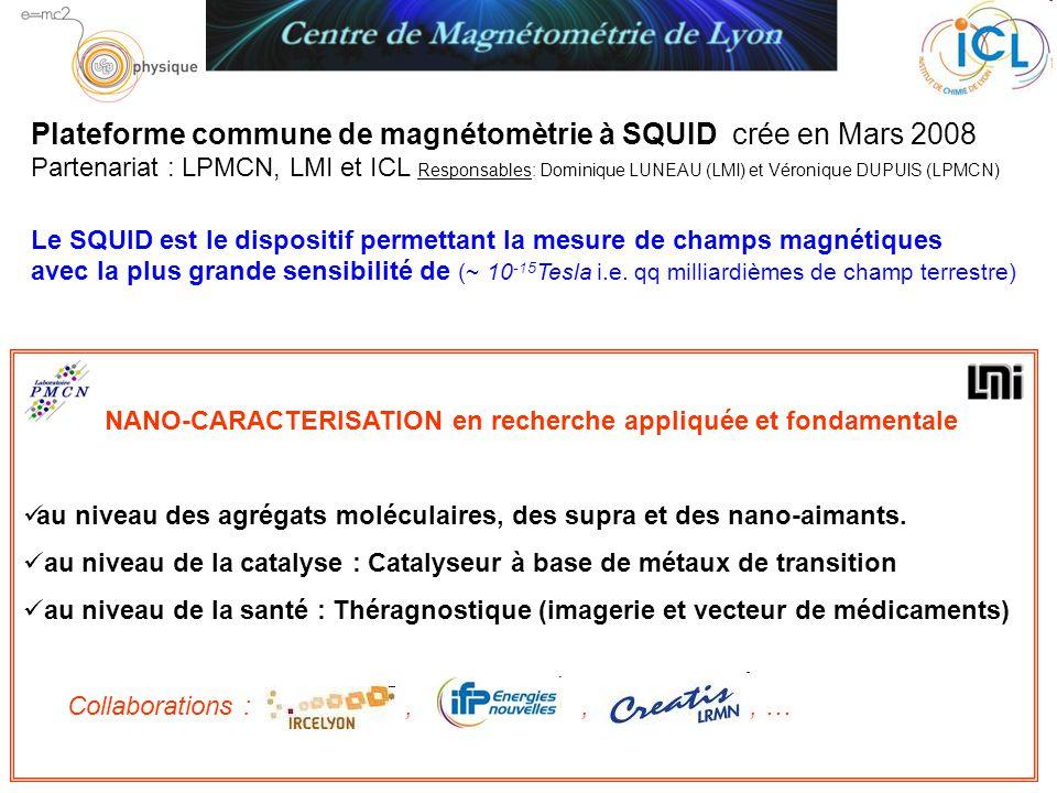 NANO-CARACTERISATION en recherche appliquée et fondamentale