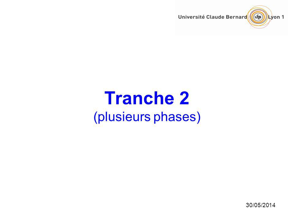 Tranche 2 (plusieurs phases)