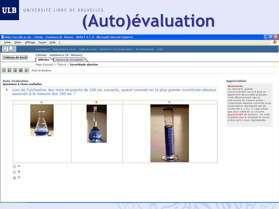 (Auto)évaluation