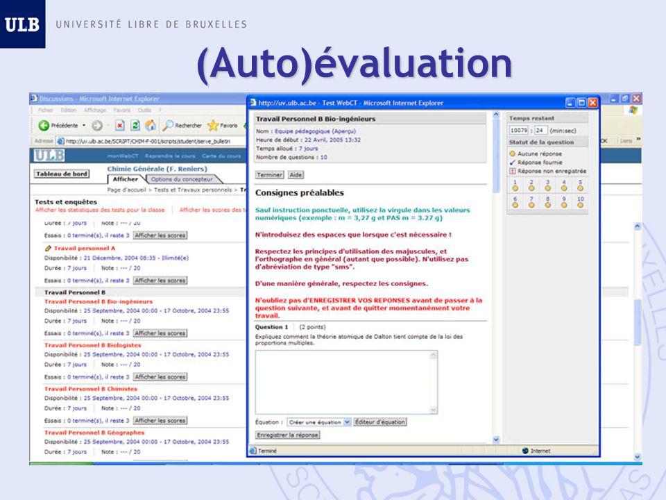 (Auto)évaluation Drill difficulté progressive essais multiples