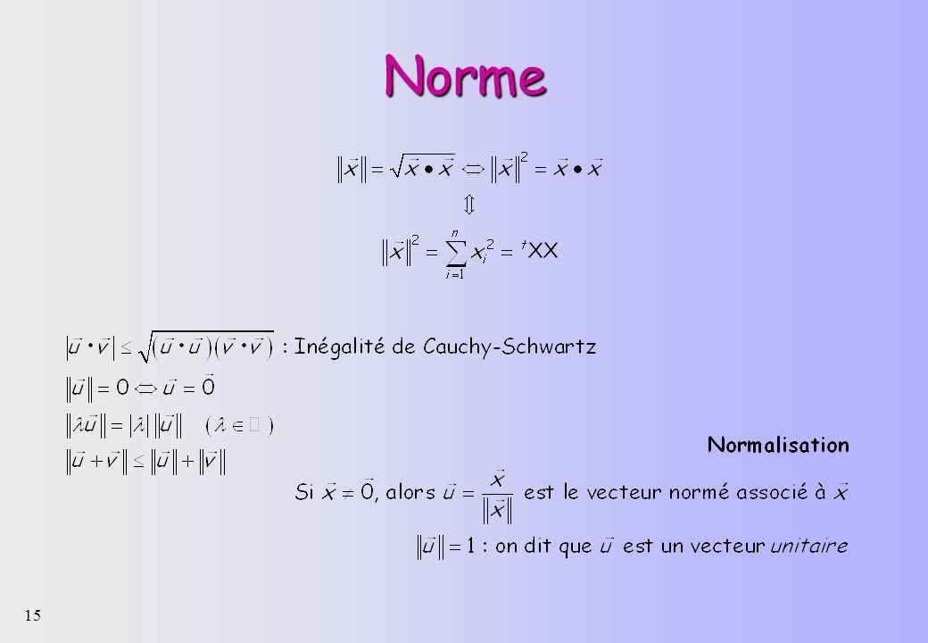 Norme