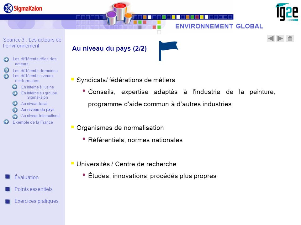 Syndicats/ fédérations de métiers