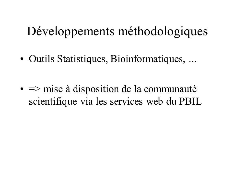 Développements méthodologiques