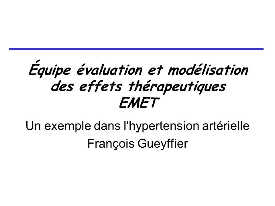 Équipe évaluation et modélisation des effets thérapeutiques EMET