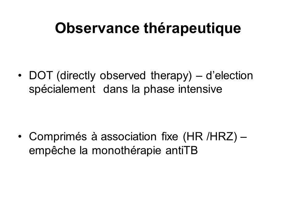 Observance thérapeutique