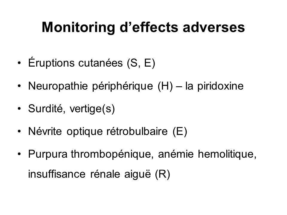 Monitoring d'effects adverses