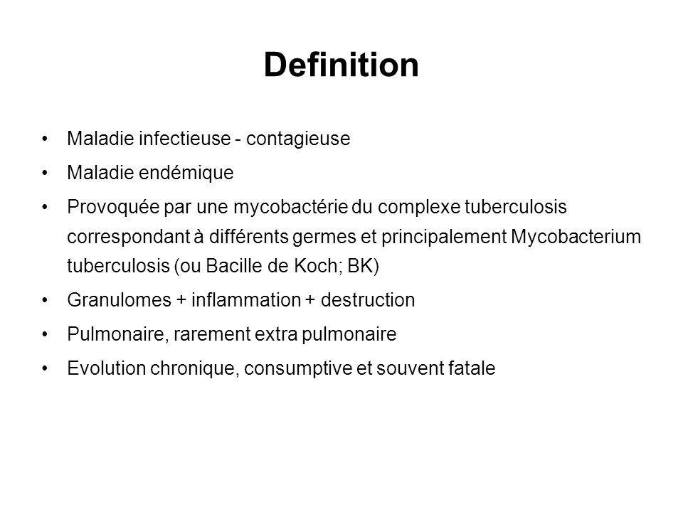 Definition Maladie infectieuse - contagieuse Maladie endémique